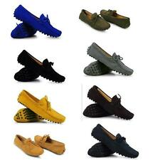Mens Comfort Suede Leather tassel slip-on driving Loafer shoes US SIZE 7-11