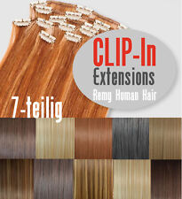 Clip In Extension 40/45/55/70 Human Hair 7teilig Extension Extensions Clip