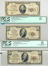 1929 National Banknotes from La Crosse, Madison, and Marinette, Wisconsin
