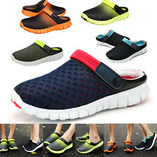Mens Womens Summer Casual Shoes Mesh Breathable Sandals Couples Beach Slippers