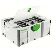 Festool SYSTAINER STORAGE BOX SYS 1 T-LOC *German Brand- 396x296 x105mm Or 210mm