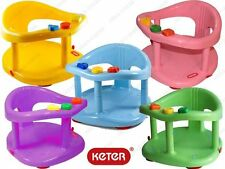 Baby Bath Seat Safety Tub Ring Infant Bathtub Seat Anti Slip Chair GIFT KETER