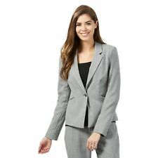 The Collection Petite Womens Grey Suit Petite Jacket From Debenhams
