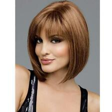 Short Hair Straight Womens Hair Wigs Party Cosplay 4 Colors Fashion Full Sexy