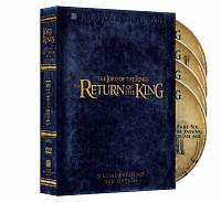 The Lord Of The Rings - The Return Of The King (DVD, 2005, 4-Disc Set,...