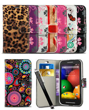 Pattern Wallet Case For Nokia Lumia 635 Mobile Phone Printed Flip Cover & Stylus