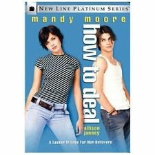 How to Deal (DVD, 2003, Platinum Series) BRAND NEW SEALED Mandy Moore