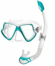 NEW - Mares Ladies Womens SILICONE Mask and Purge Snorkel Set - Holiday Package