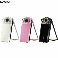 "CASIO EXILIM EX-TR80 3.5"" LCD Screen 11.1MP Six Make-Up Modes F2.8 Selfie Camera"
