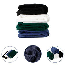 Nice Durable Tri-Fold Golf Sport Hiking Cotton Towel With Hanging Carabiner Ring