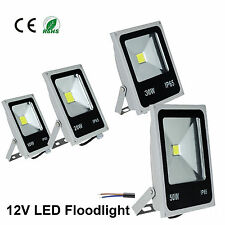 12V 10W LED  10W-50W Outdoor Flood Light outdoor solar powered colorful light