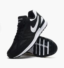 Nike Air Pegasus New Racer Training Running Shoes Mens 12 Black White 705172 001