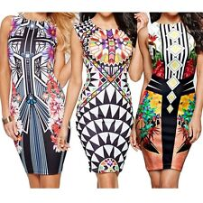 Dress Mini Digital Package  Pencil Vest  Pen Nightclub New Hip Printing Sexy
