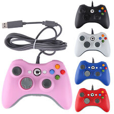 New Wired USB Game Pad Remote Controller For Microsoft Xbox 360 & PC Windows US