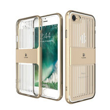 Ultra Slim Hard plastic Bumper + Crystal Clear Silicone Back Case For i Phone 6G