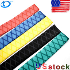 """X-Tube Heat Shrink Wrap Tubing 39""""&64"""" Lengths for Rod Grips-5 Color 14 Sizes US"""
