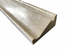 Cappuccino Beige Marble Polished Crown Chair Rail Molding