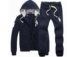 NWT SWEAT+PANTS POLO MEN'S HOODIE GUARD COATS TRACK JACKET PULLOVER SIZE S-XXL