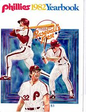 1982 Philadelphia Phillies Yearbook