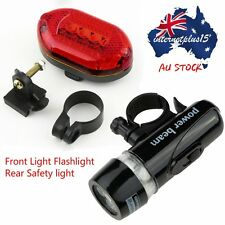LED Bicycle Bike Cycling Silicone Head Front Rear Wheel Safety Light Lamp UO