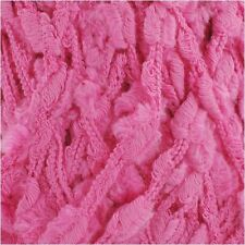 Fun and Funky Bamboo Fiber Blend Yarn, Bulky, 100g/skein Pretty in Pink