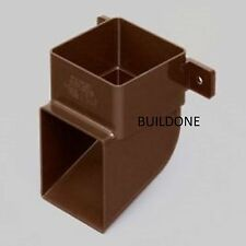 Marley Square Rainwater 65mm Down Pipe Outlet Shoe RSE1 Black White Brown