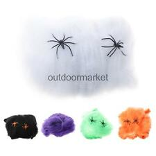 Realistic Spider Web Cotton Halloween Props Home Party Bar Pub Decoration Accss