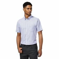 The Collection Mens Purple Textured Regular Fit Shirt From Debenhams