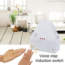 110V/220V Electronic Gadget Hand Light Switches Clapper Sound Activate Switch BT