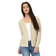 Maine New England Womens Natural Pointelle Knit Cardigan From Debenhams