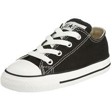 Converse Chuck Taylor All Star Infant Black Textile Trainers
