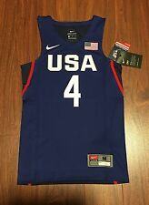 Stephen Curry Blue Team USA Basketball Nike Youth Replica Jersey New With Tags