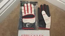 CUTTERS 017XT THE GAMER ADULT MEDIUM FOOTBALL GLOVES, NWT, C-TACK