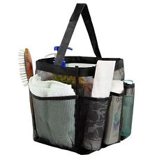 Caddy Storage Pouch Quick Dry Cosmetics Organizer Hanging Mesh Bag Shower Tote