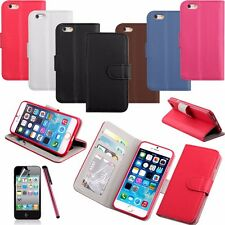 Magnetic Flip Folio Credit Card PU Leather Wallet Stand Case Cover For iPhone 6