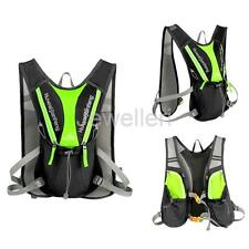 Cycling Hiking Vest Hydration Backpack Pack Fits Holding 1.5L Water Bladder Bag