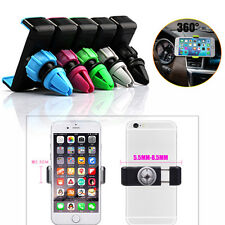 360° Flexible Car Air Vent Mount Cradle Holder Stand For iPhone Samsung GPS Lot