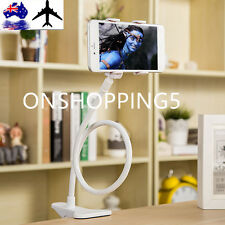 Universal Lazy Bed Desktop Car Stand Mount Holder For Cell Phone Long Arm AU UO