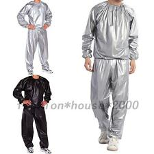 Sweat Track Sauna Suit Fitness Weight Loss Exercise Active Tracksuit Exercise