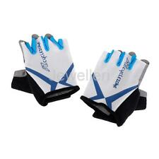 Half Finger Cycling Gloves Cycle Bicycle Nylon Mesh Weight Lifting Gym Fitness