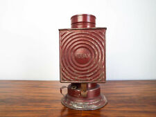 Vintage Dietz Convex Kodak Darkroom Kerosene Oil Lantern Lamp Red Safe Light