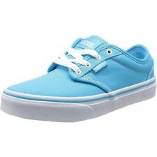 Vans Atwood Youth Blue Atoll Textile Trainers