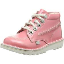 Kickers Kick Hi Infant Light Pink Patent Ankle Boots