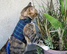 Mynwood Cat Walking Jacket Harness Vest Holster -MADE TO MEASURE