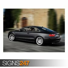 AUDI S5 COUPE CAR 9 (AB652) CAR POSTER - Photo Picture Poster Print Art A0 to A4