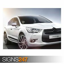 CITROEN DS4 CAR (AC734) CAR POSTER - Photo Picture Poster Print Art A0 to A4