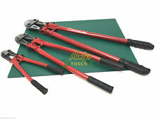 """BUY 3: Bolt Cutters Croppers 14"""" 24"""" 30"""" Wire Cable Bolt Cutting Tool Heavy Duty"""
