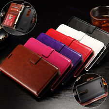 For MOTOROLA X Force DROID TURBO 2 Luxury Flip Case PU Leather Wallet Skin Cover