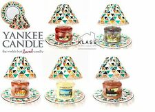 Yankee Candle Moroccan Style Large Lamp Shades With Trays And Medium Candle Jars