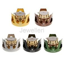 Aluminum Alloy Mini Stove Brass Furnace Alcohol Burner for Camping Backpacking